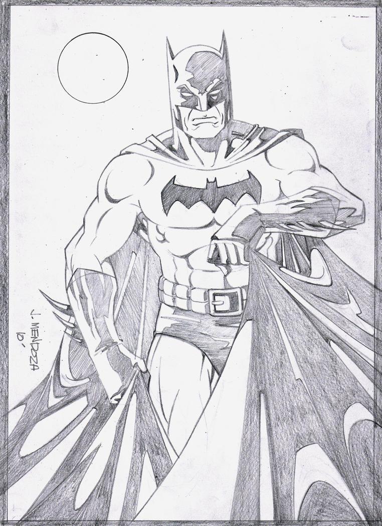 Batman Pencils by wardogs101 on DeviantArt