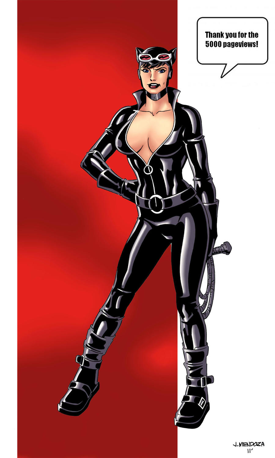 Selina Wants To Say Thanks by wardogs101