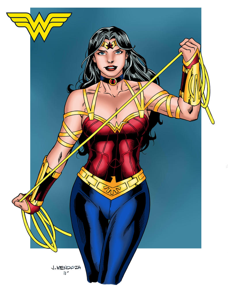 Wonder Woman in Pants by wardogs101