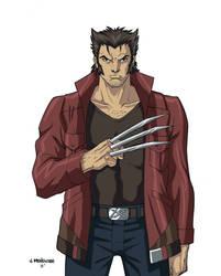 Wolverine by wardogs101