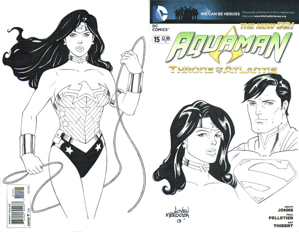 WW  Sketch Cover WIP by wardogs101