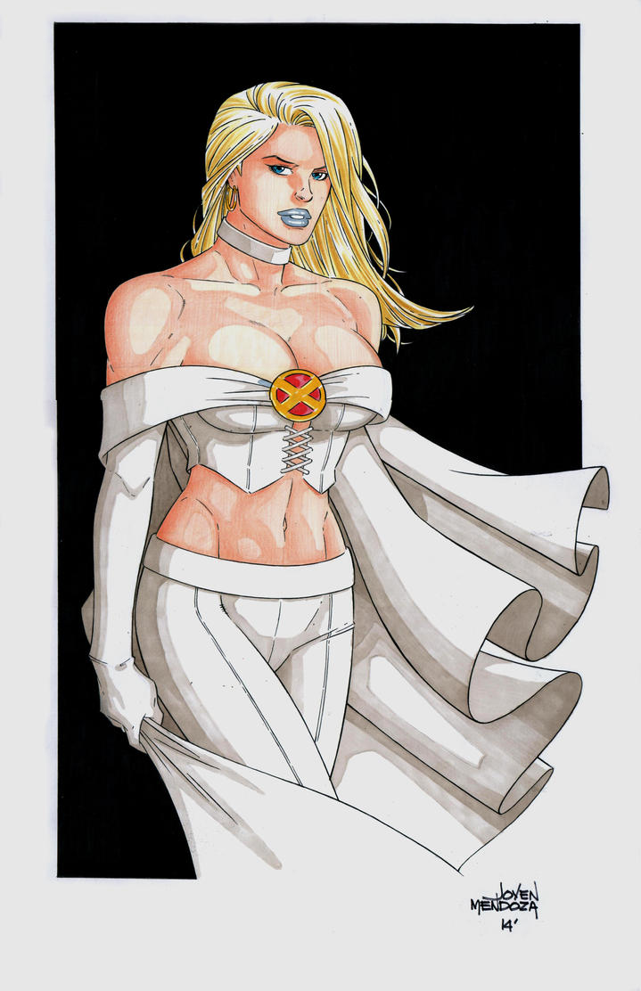 Emma Frost by wardogs101