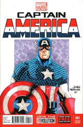 Captain America by wardogs101