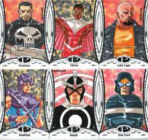 2014 Marvel Premier base set 7 by wardogs101