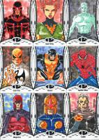 2014 Marvel Premier base set 4 by wardogs101
