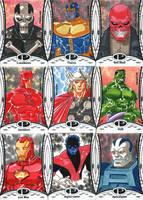 2014 Marvel Premier base set 3 by wardogs101