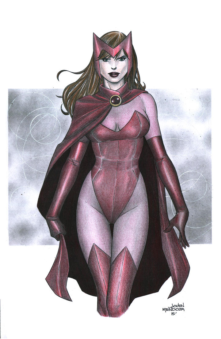 Wanda Maximoff aka Scarlet Witch by wardogs101