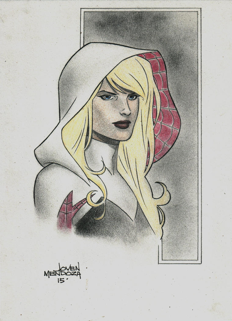 Gwen Stacy by wardogs101