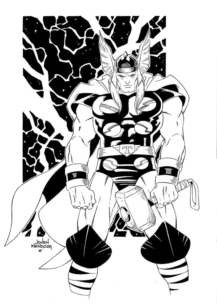 Classic Thor Commission by wardogs101