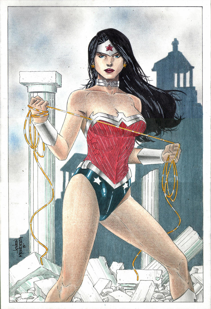 New 52 Wonder Woman Commission by wardogs101