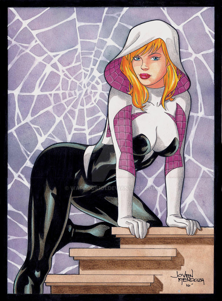 Spider-Gwen by wardogs101