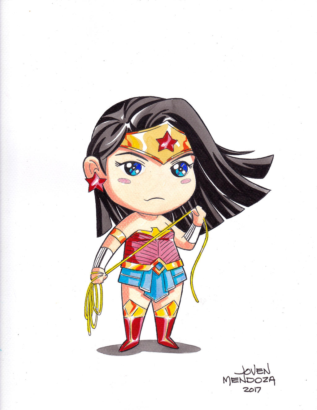 Wonder Woman Chibi by wardogs101 on DeviantArt