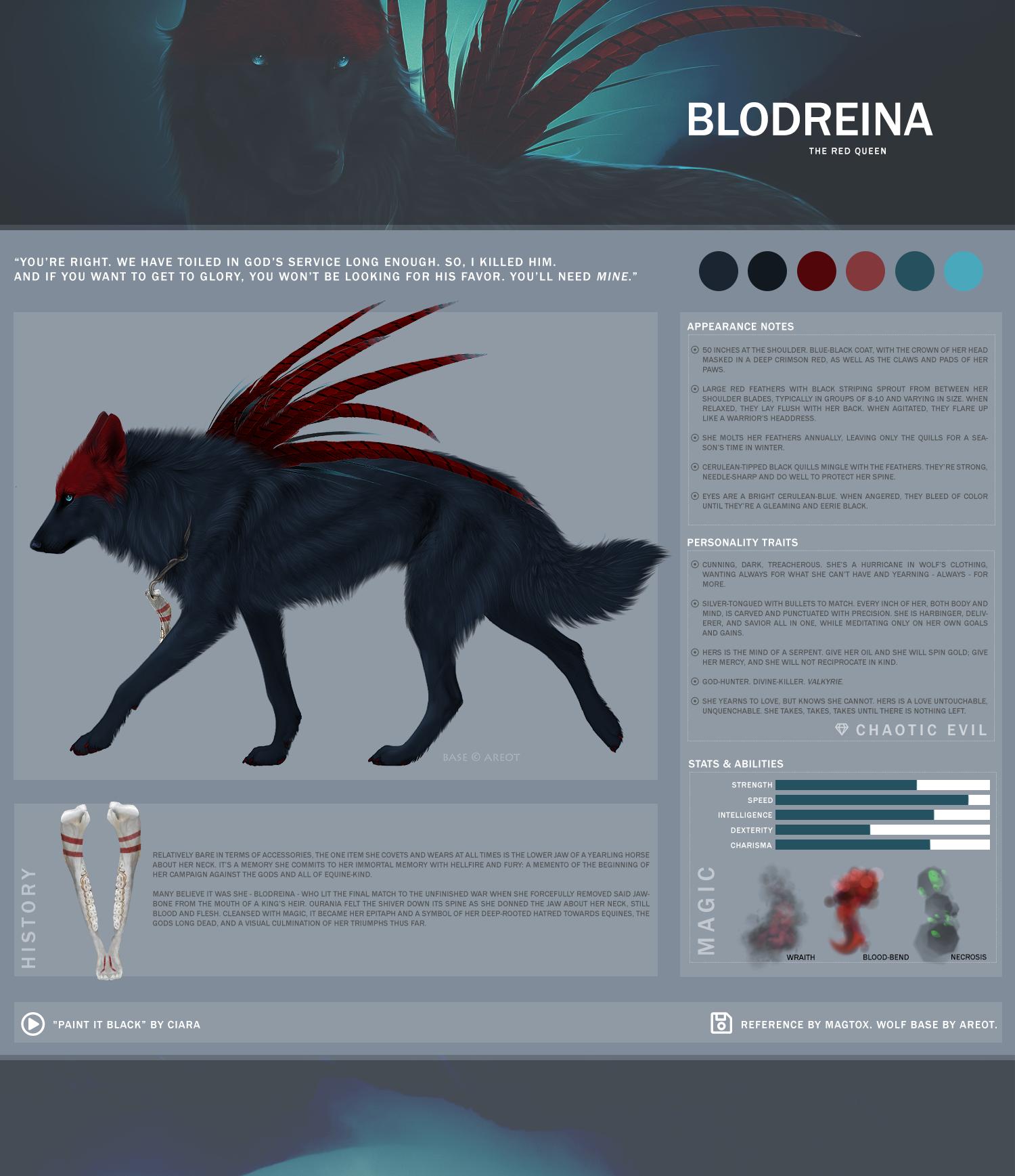 REF: Blodreina by magtox