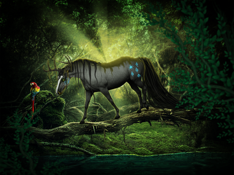 IN THE JUNGLE -- completed yhh for bluebirdz