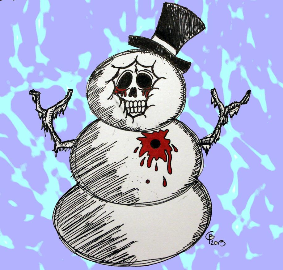 Frosty the Deadman by Shadysketch
