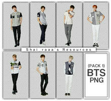 BTS Png (Pack) by Shairaaa