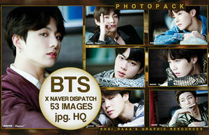 BTS  Naver Dispatch (PhotoPack) by Shairaaa