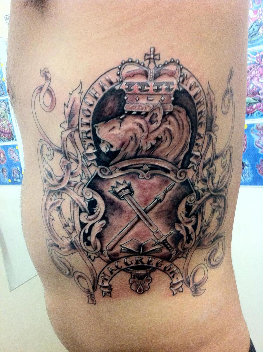 family coat of arms tattoo by jayblum on deviantart. Black Bedroom Furniture Sets. Home Design Ideas