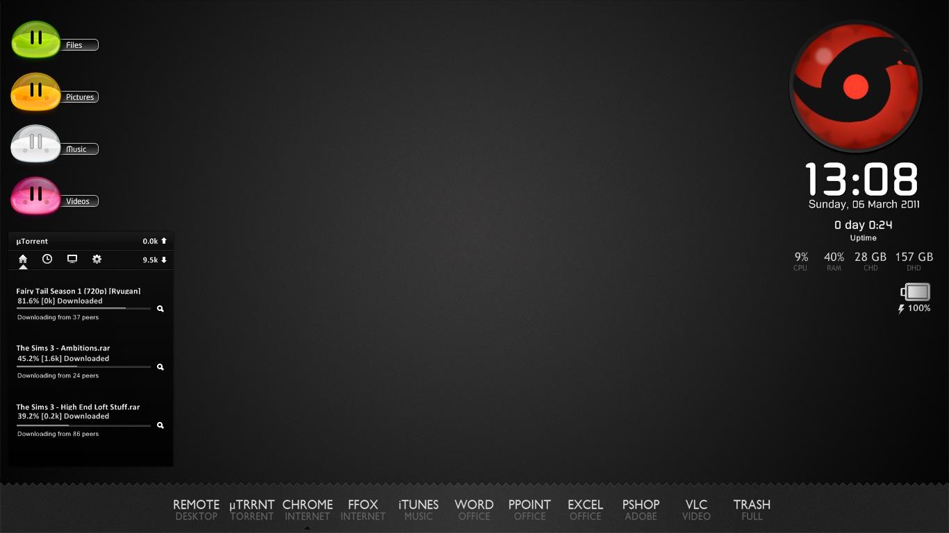 Simply Black v2.0 by nlsanchez