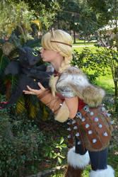 Astrid Loves Toothless