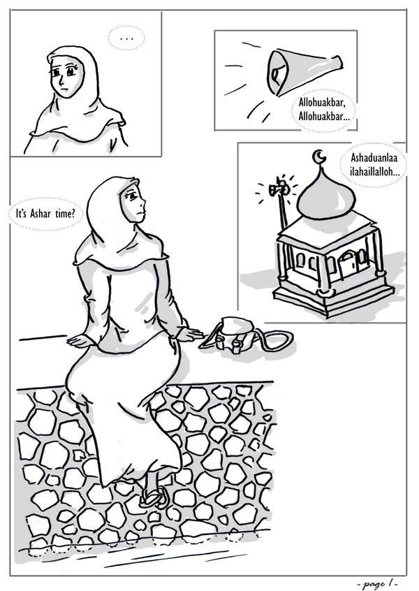Muslim Manga Month 4 - Page1