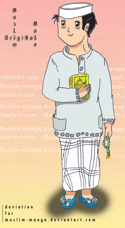 Male OC Contest - Muslim Manga
