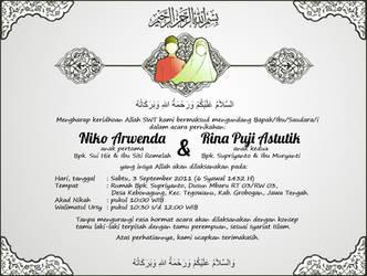 My Wedding's Invitation by Wilpan