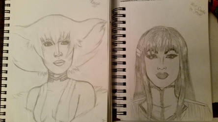 Violet and Raja as Satsuki and Ragyo by Oechslein