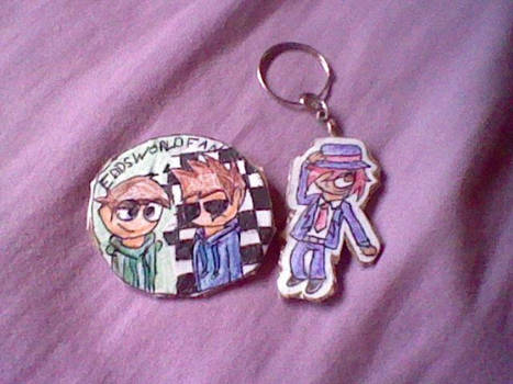 Button and Keychain