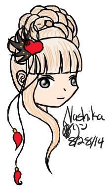GC: Nashika by NobodysWanderingSoul