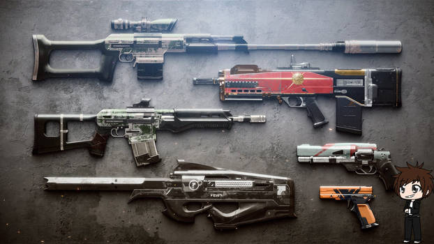 Reissued Weapons