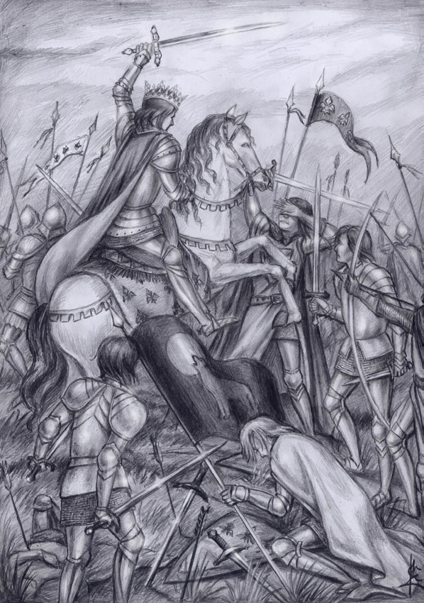 The battle of Graza by edarlein