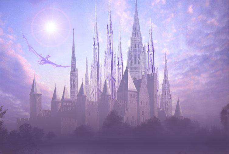 FRB: REVAMP NO. 4: El Jardín Mágico de Terry (Celebración de cumpleaños de Terry, 28 de enero de 2010) An_elven_castle_2_by_edarlein