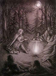 Finrod and the kindred of Beor by edarlein