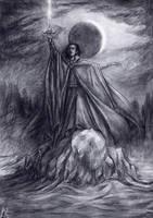 The sword of eclipsed sun by edarlein