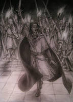 The oath of Feanor by edarlein