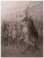 Before the battle by edarlein