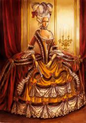 A French Dame by edarlein