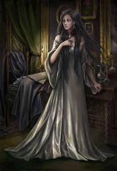 Black Rose by edarlein