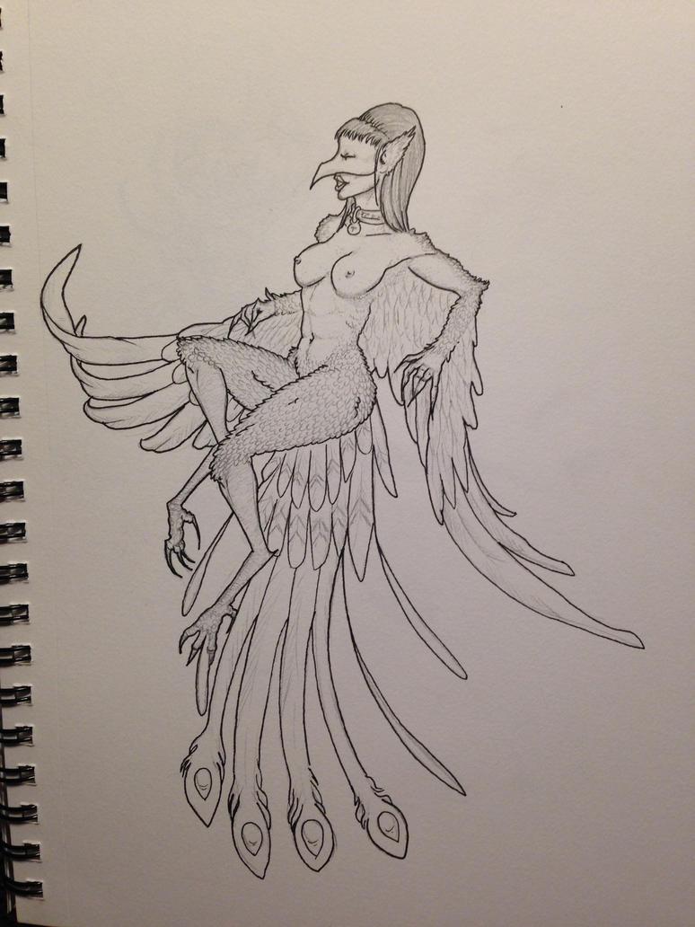 Bird of Prey- Sketchbook by Telelia