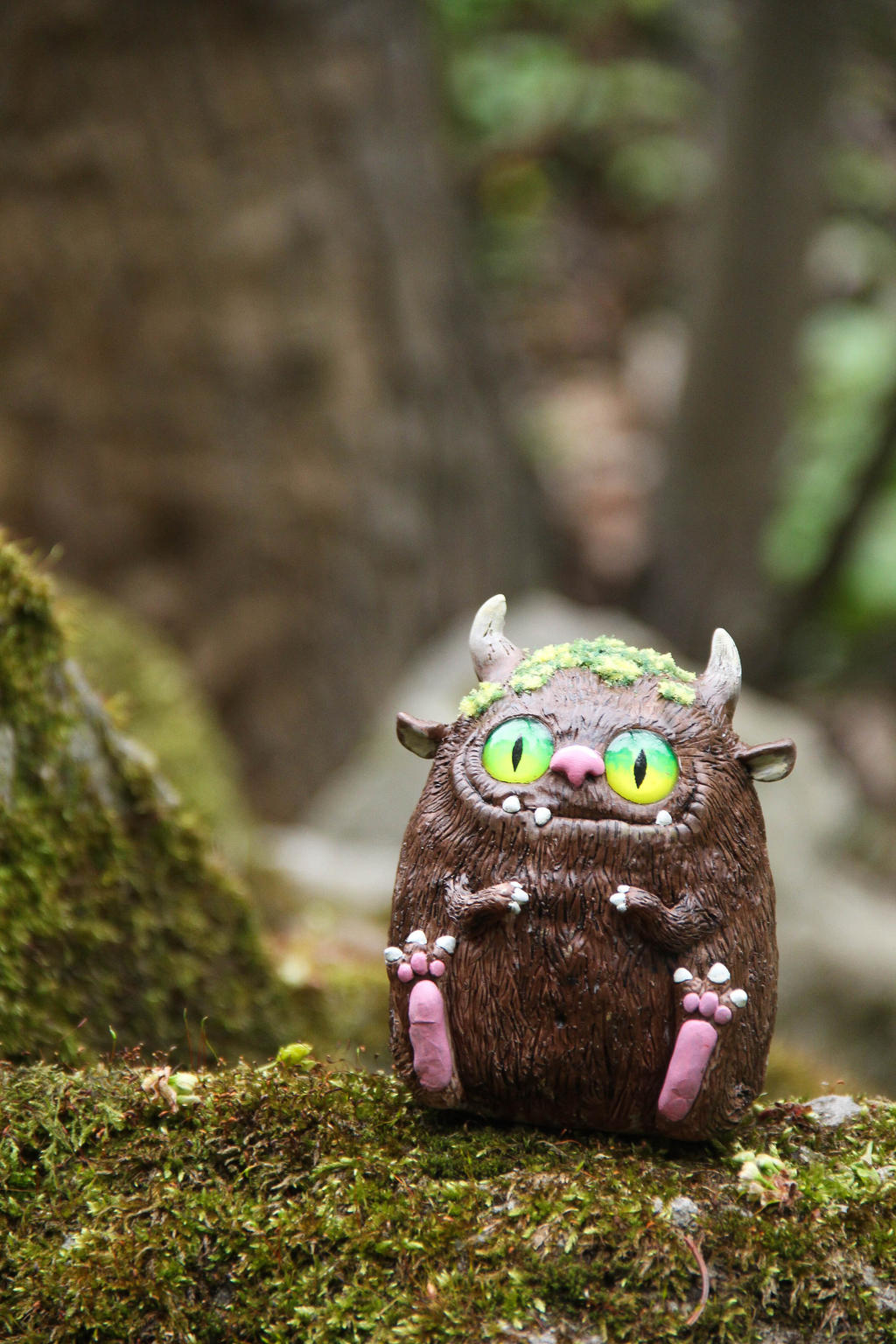Forest Monster, Fantasy Creature by Lavenderwitch