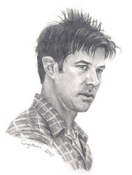 Joe Flanigan in Burbank