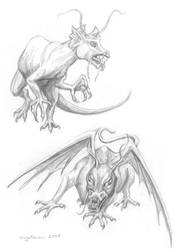 Monstrous sketches