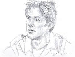 John Sheppard quick sketch