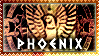 Egyptian Zodiac Stamp - Phoenix by Autlaw