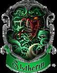 Slytherin Stamp by Aeonrin