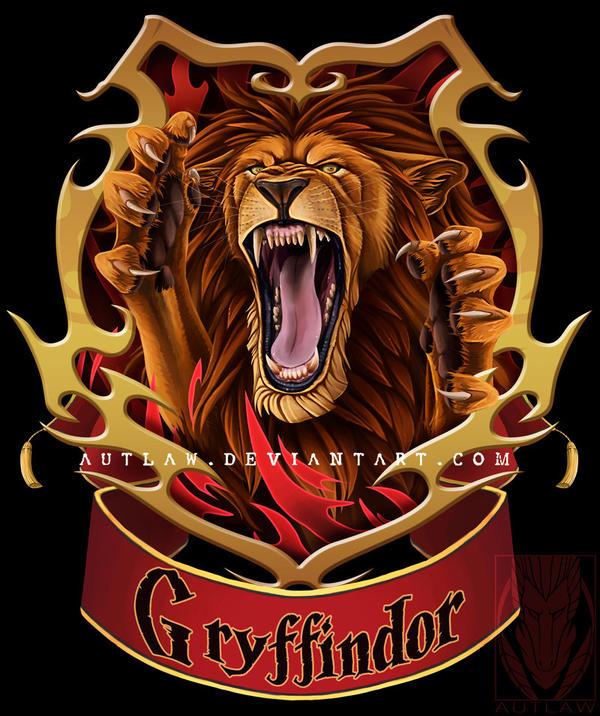 gryffindor crest by autlaw on deviantart