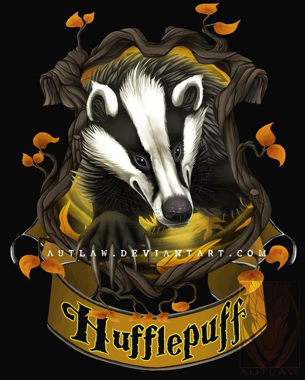 Hufflepuff Crest By Autlaw On DeviantArt