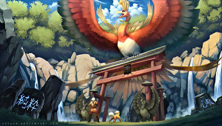 Ho-oh - Pure of heart by Aeonrin