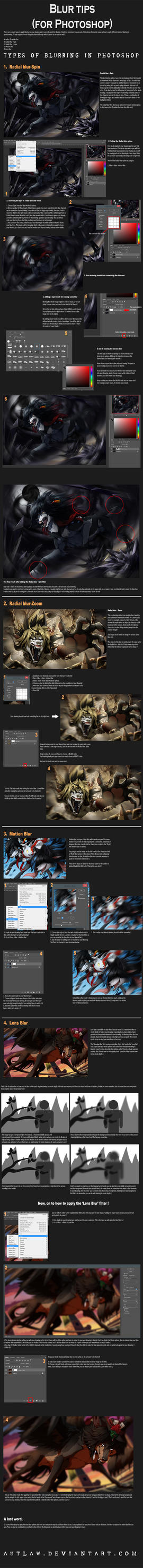 Photoshop tutorials deviantart gallery wulben 45 3 tips for various blur filters photoshop by autlaw baditri Gallery